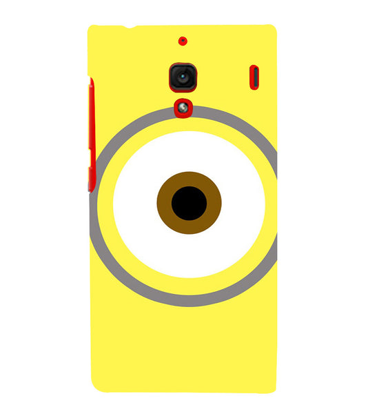 EPICCASE Eye of the minion Back Case Cover for Xiaomi Redmi 1s
