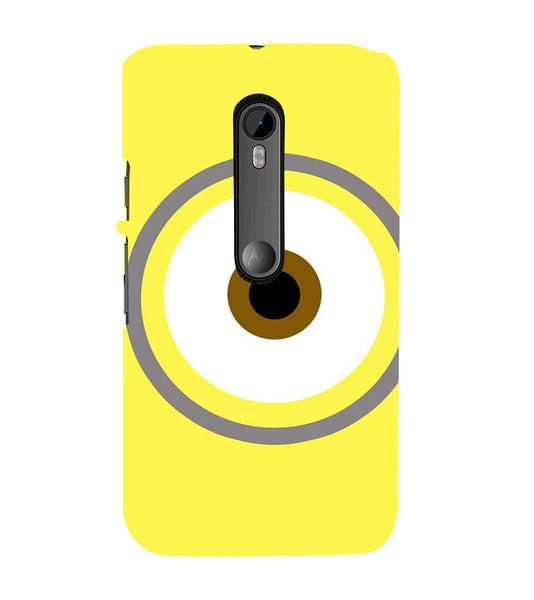 EPICCASE Eye of the minion Back Case Cover for Moto X Style
