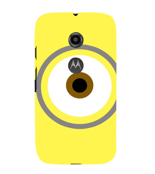 EPICCASE Eye of the minion Back Case Cover for Moto E2