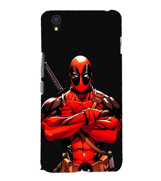 EPICCASE Deadpool terror Back Case Cover for Oneplus X