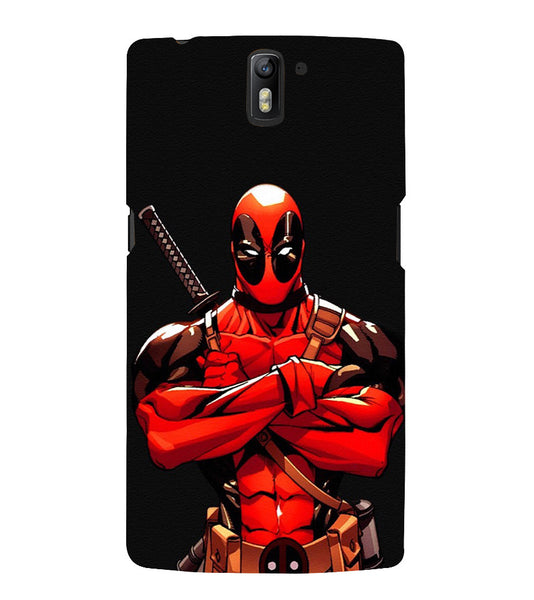 EPICCASE Deadpool terror Back Case Cover for Oneplus One