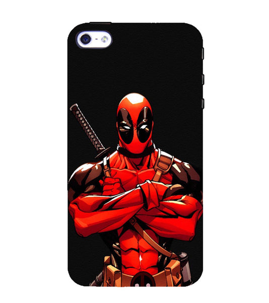 EPICCASE Deadpool terror Back Case Cover for Apple iPhone 4