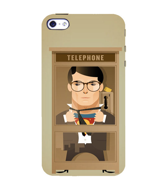 EPICCASE Clark goes super Back Case Cover for Apple iPhone 5/5s