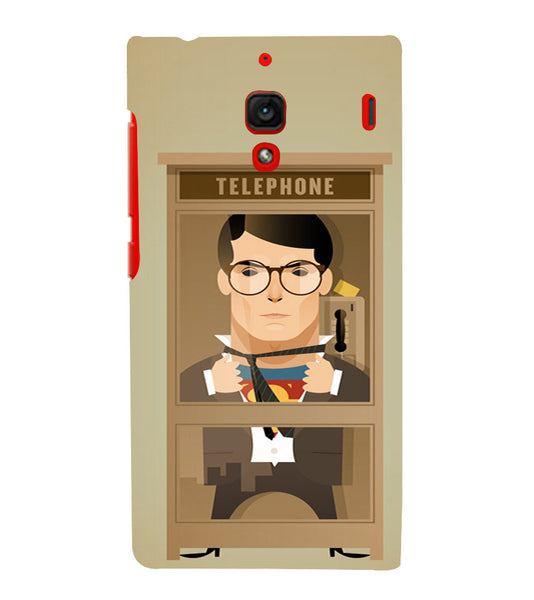 EPICCASE Clark goes super Back Case Cover for Xiaomi Redmi 1s