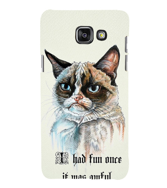 EPICCASE Grumpy cat Back Case Cover for Samsung A7 2016