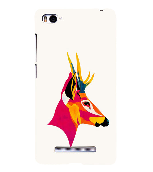 EPICCASE Artistic deer Back Case Cover for Xiaomi Redmi Mi4i