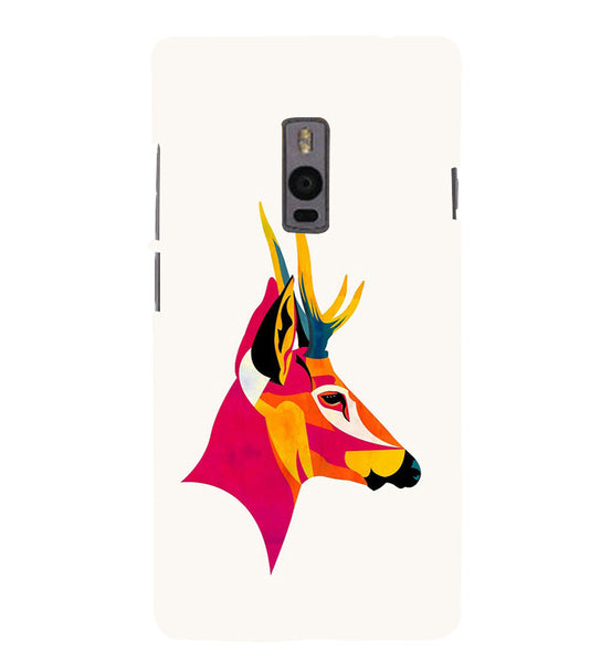 EPICCASE Artistic deer Back Case Cover for Oneplus Two