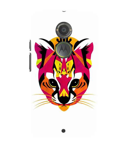 EPICCASE Artistic tiger Back Case Cover for Moto X2