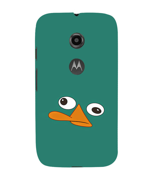 EPICCASE perry the platypus Back Case Cover for Moto E2