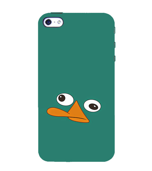 EPICCASE perry the platypus Back Case Cover for Apple iPhone 5/5s