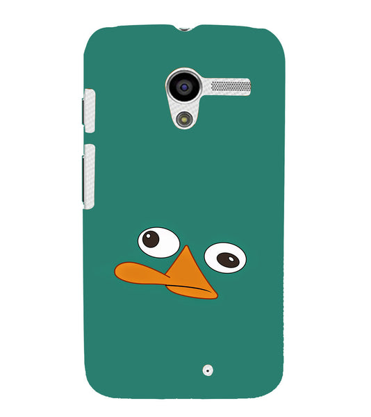 EPICCASE perry the platypus Back Case Cover for Moto X