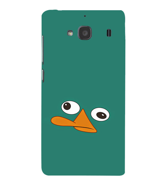 EPICCASE perry the platypus Back Case Cover for Xiaomi Redmi 2s
