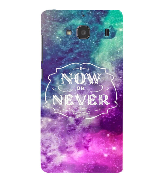 EPICCASE Do it now Back Case Cover for Xiaomi Redmi 2s