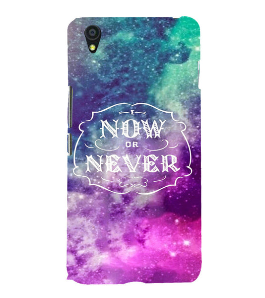 EPICCASE Do it now Back Case Cover for Oneplus X