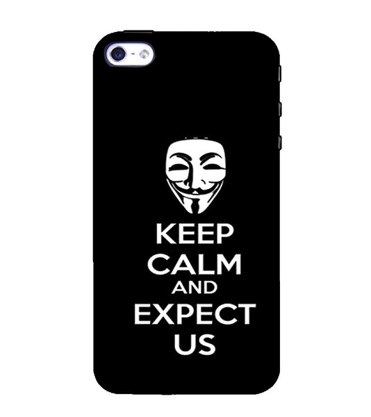 EPICCASE Wait and expect Back Case Cover for Apple iPhone 4