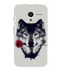 EPICCASE Peave over blood Back Case Cover for Moto X