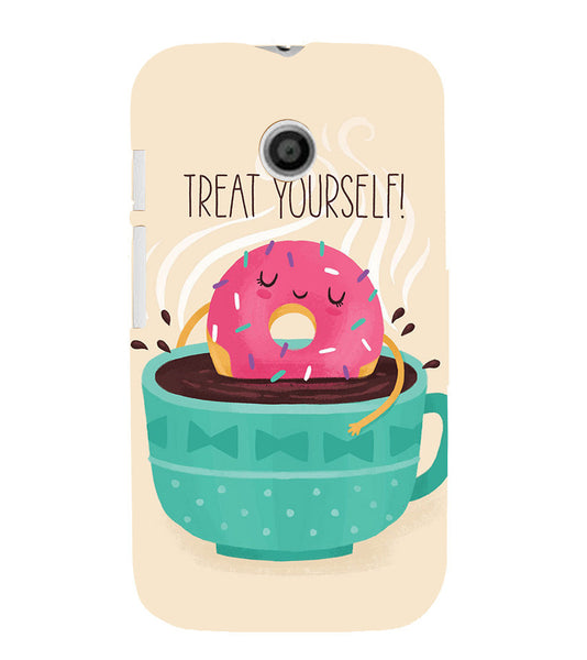 EPICCASE Treat yourself Back Case Cover for Moto E