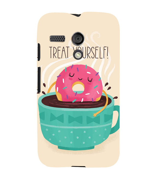 EPICCASE Treat yourself Back Case Cover for Moto G
