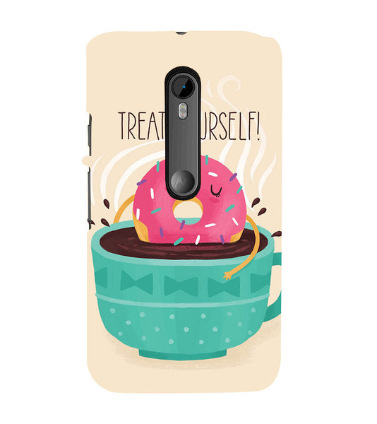 EPICCASE Treat yourself Back Case Cover for Moto X Play