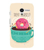 EPICCASE Treat yourself Back Case Cover for Moto X