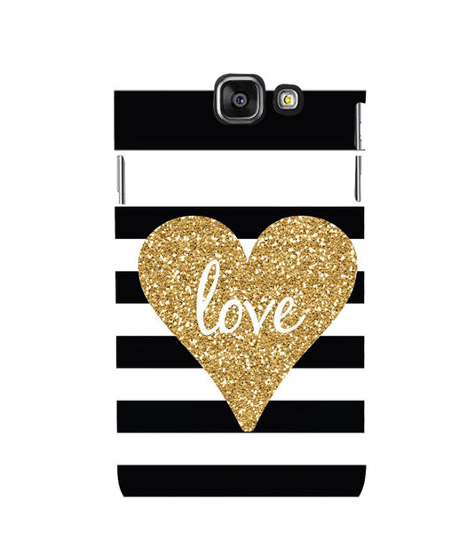 EPICCASE Love patterns Back Case Cover for Samsung A7 2016