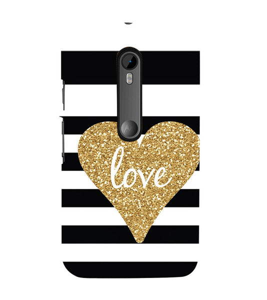 EPICCASE Love patterns Back Case Cover for Moto X Style