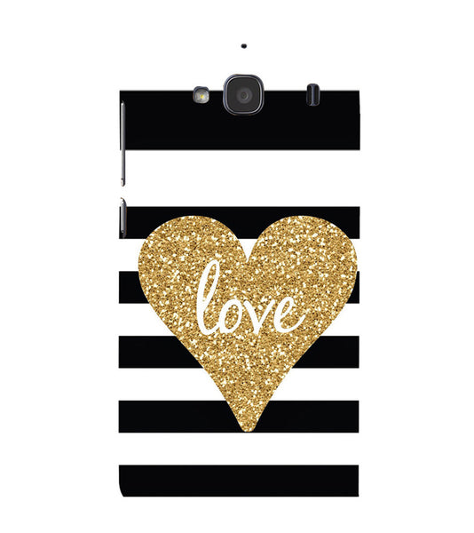 EPICCASE Love patterns Back Case Cover for Xiaomi Redmi 2s