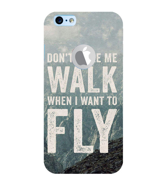 EPICCASE Don't make me walk Back Case Cover for Apple iPhone 6/6s