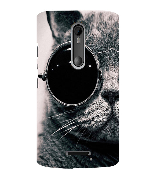 EPICCASE Swag cat Back Case Cover for Moto X3