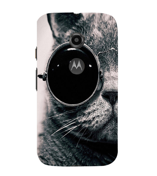 EPICCASE Swag cat Back Case Cover for Moto E2