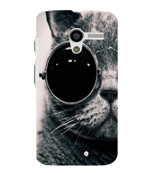 EPICCASE Swag cat Back Case Cover for Moto X