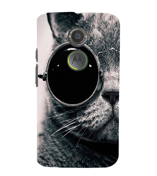 EPICCASE Swag cat Back Case Cover for Moto X2
