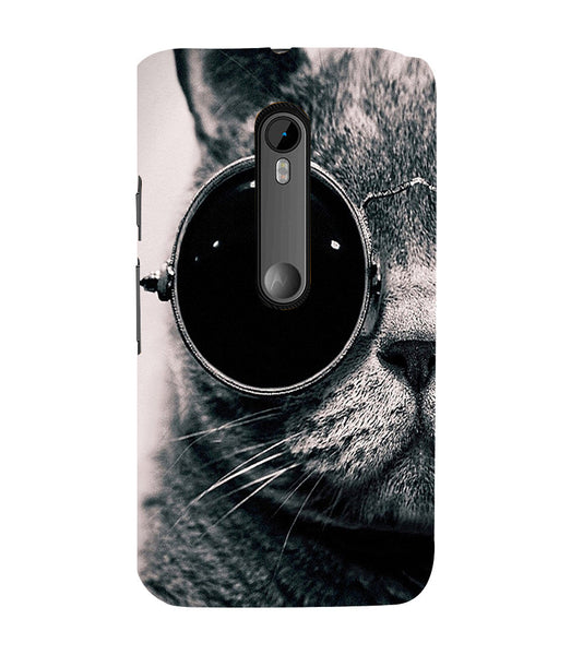 EPICCASE Swag cat Back Case Cover for Moto X Style