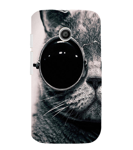 EPICCASE Swag cat Back Case Cover for Moto E