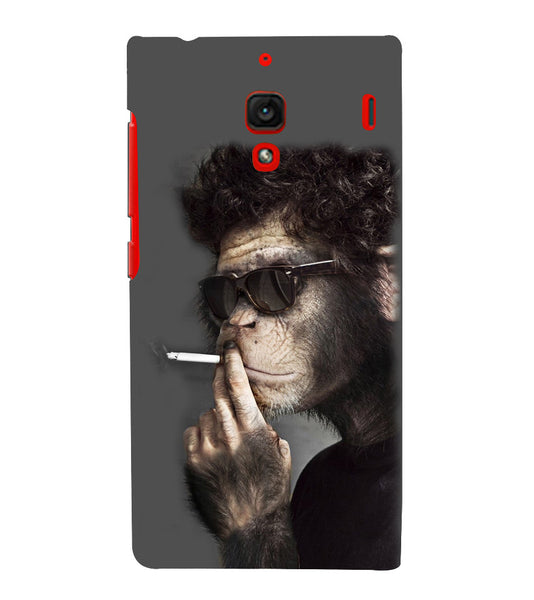 EPICCASE Smoking monkey swag Back Case Cover for Xiaomi Redmi 1s