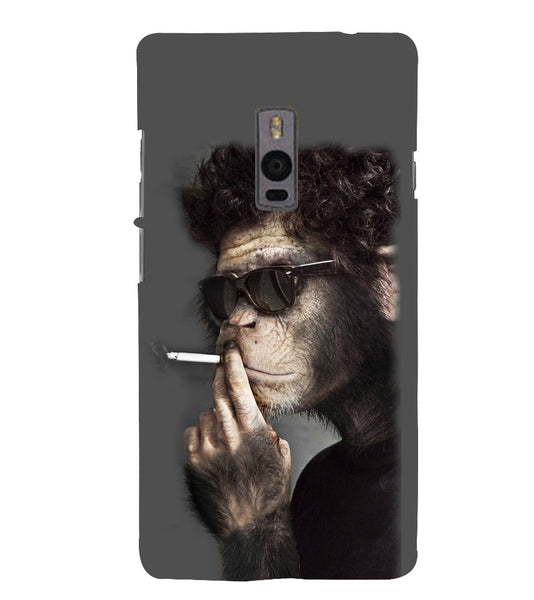 EPICCASE Smoking monkey swag Back Case Cover for Oneplus Two