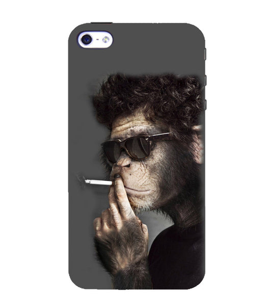 EPICCASE Smoking monkey swag Back Case Cover for Apple iPhone 4