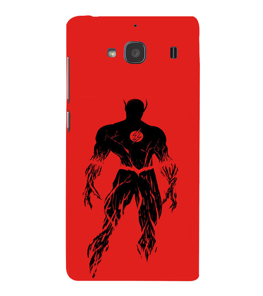 EPICCASE Burning flash Back Case Cover for Xiaomi Redmi 2s
