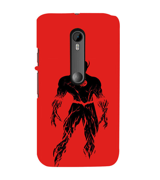 EPICCASE Burning flash Back Case Cover for Moto X Style
