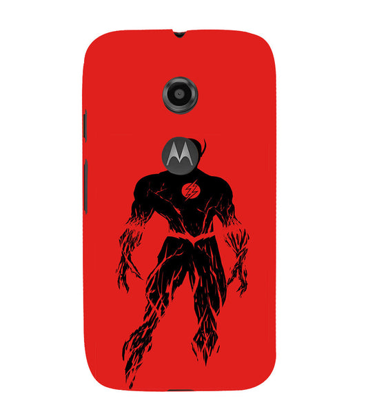 EPICCASE Burning flash Back Case Cover for Moto E2