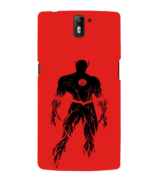 EPICCASE Burning flash Back Case Cover for Oneplus One