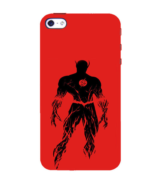EPICCASE Burning flash Back Case Cover for Apple iPhone 4