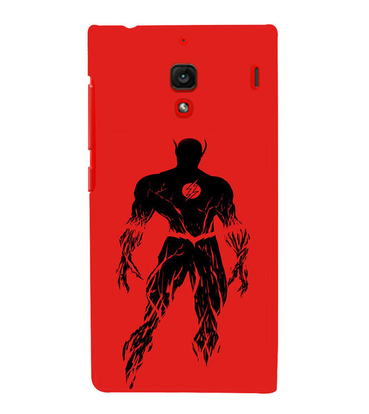 EPICCASE Burning flash Back Case Cover for Xiaomi Redmi 1s