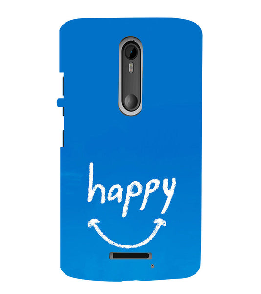 EPICCASE Happy case Back Case Cover for Moto X3