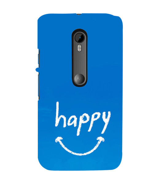 EPICCASE Happy case Back Case Cover for Moto X Play