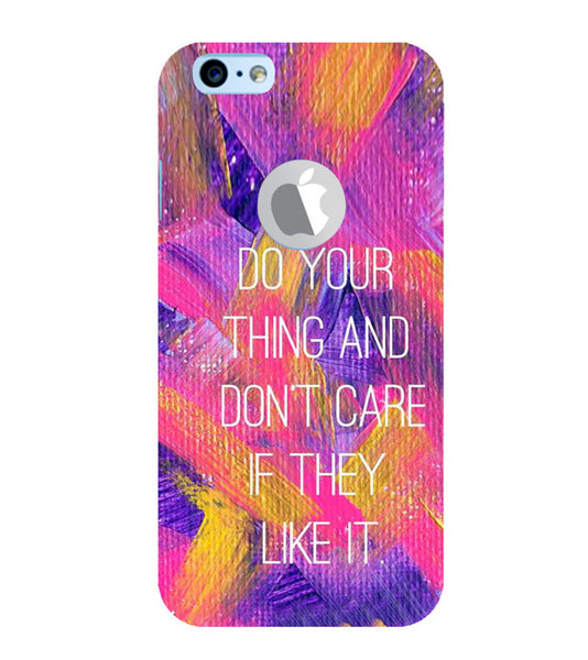 EPICCASE Do your thing Back Case Cover for Apple iPhone 6plus/6splus