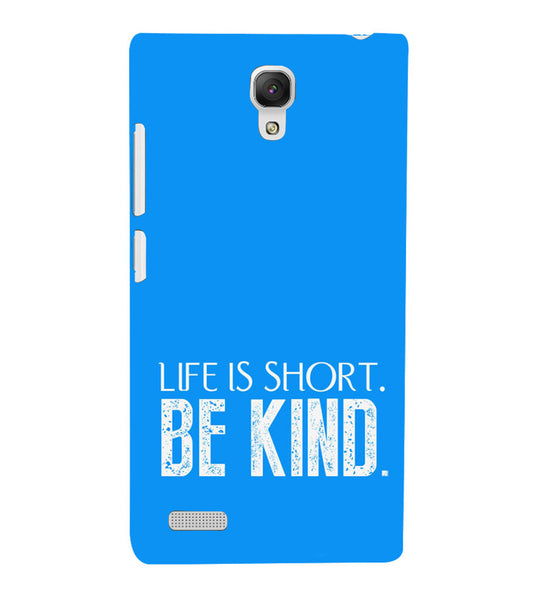 EPICCASE Be kind Back Case Cover for Xiaomi Redmi Note
