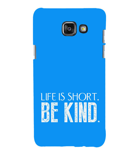 EPICCASE Be kind Back Case Cover for Samsung A5 2016