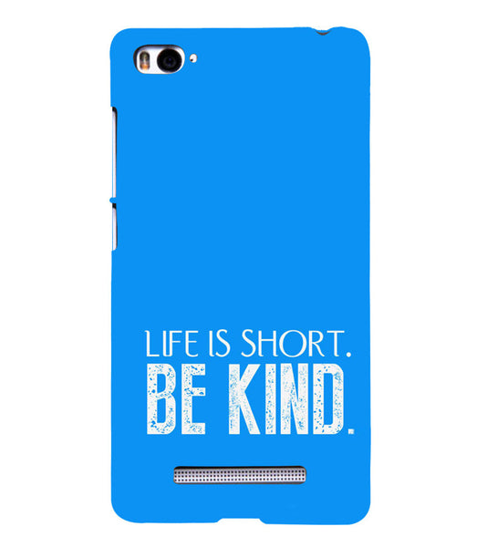 EPICCASE Be kind Back Case Cover for Xiaomi Redmi Mi4i
