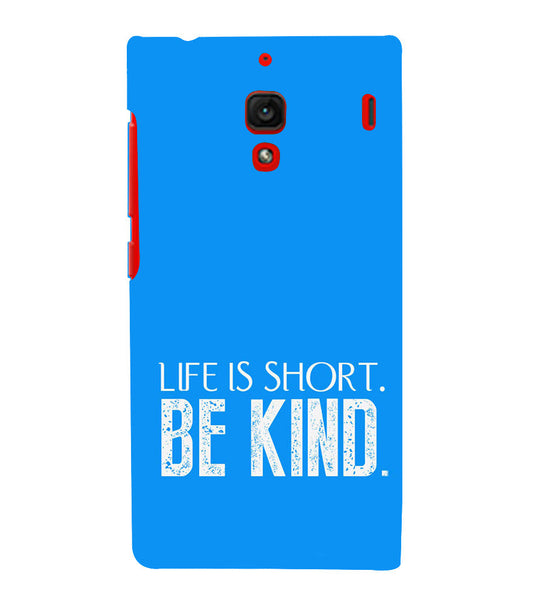 EPICCASE Be kind Back Case Cover for Xiaomi Redmi 1s